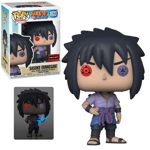 Figura Sasuke Uchiha Funko POP Naruto Shipudden Anime Rinnegan Exclusivo AAA Anime (Pre-Venta Llegada Aproximada Octubre )