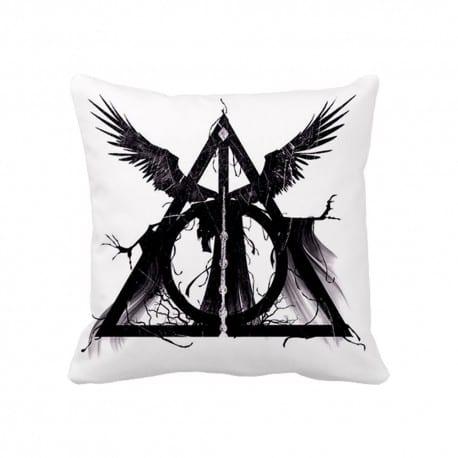 Cojin Reliquias De La Muerte ParaFanaticos Harry Potter Fantasia 30X30 cms
