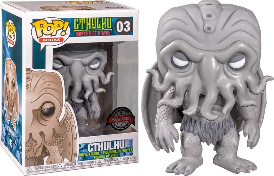 Figura Funko POP Cthulhu Exclusivo Terror