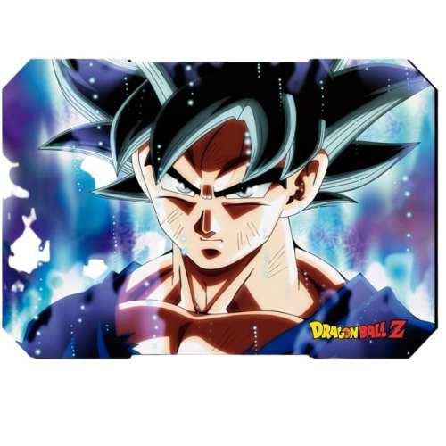 Pad mouse Goku Ultra Instinto PT Dragon Ball Z Anime Animado Alfombrilla de ratón 22x18