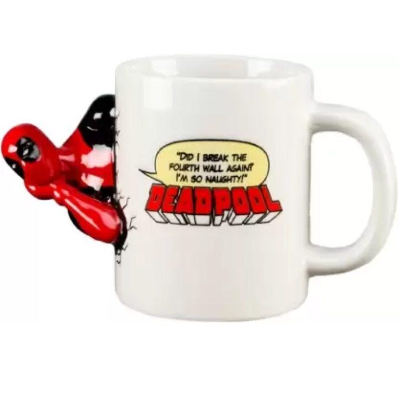Mug Deadpool PT Marvel