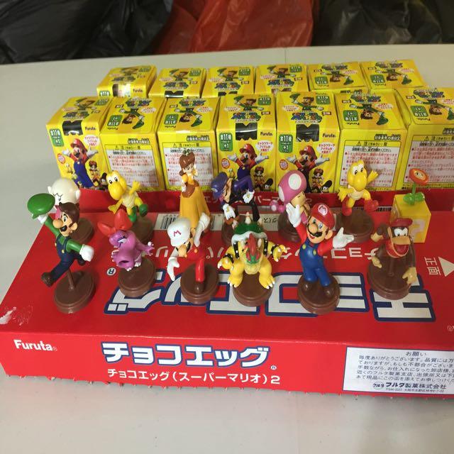 Figura Mario Bros Furuta Videojuegos Personajes Varios (copia)