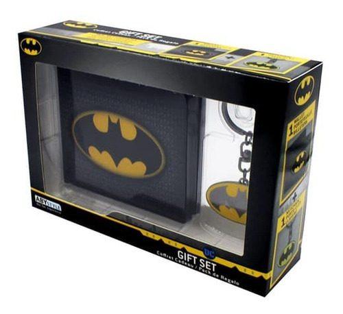 Set de Regalo Batman AbyStyle Batman DC Comics Set de Regalo X 1 Llavero y 1 Billetera