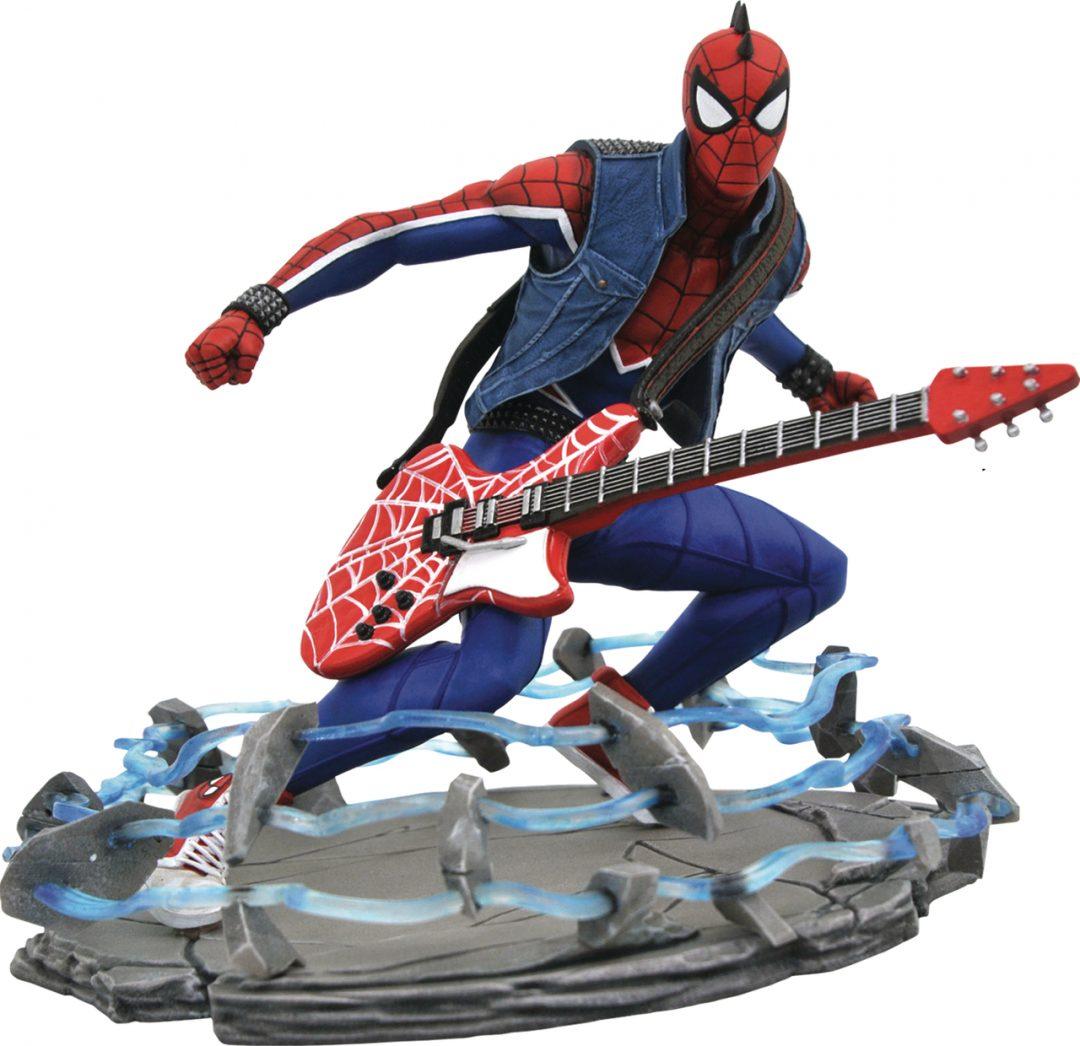 Figura Spider-Punk Gallery Spider-man Marvel