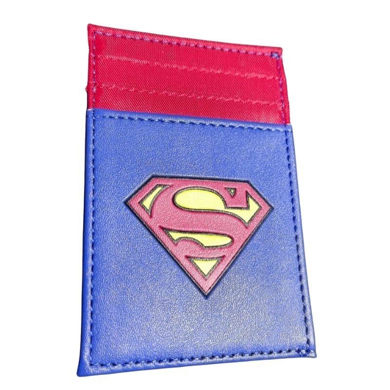 Portadocumentos Superman DC Comics Color Azul