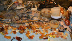 Обработка янтаря