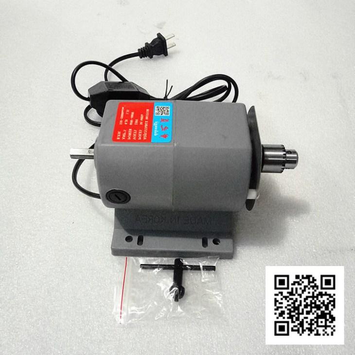 Электродвигатель сверлильного станка по янтарным шарам Вариант - 3