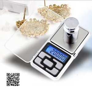 Карманные ювелирные электронные весы