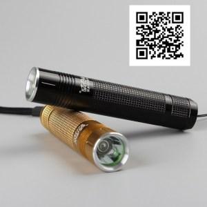 Ультрафиолетовый фонарик для проверки янтаря