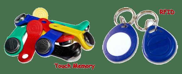 Фото домофонных ключей.