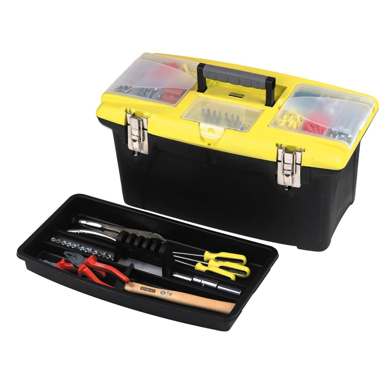 Stanley 192905 Jumbo Toolbox 16-inch with Tray