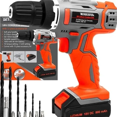 Terratek 13Pc Cordless Drill Driver review