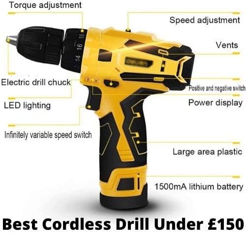 uk cordless drills under £150