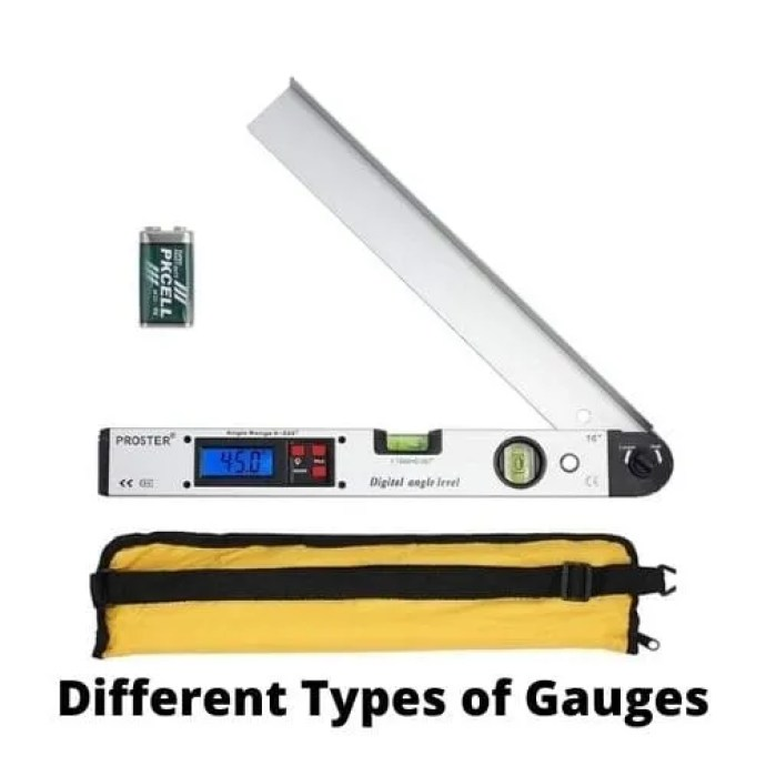 different gauges and their uses