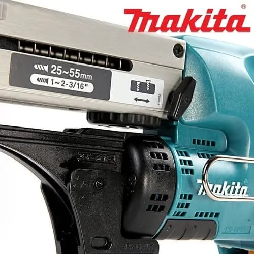 Makita DFR550Z 18V Cordless Li-Ion Auto-Feed Screwdriver