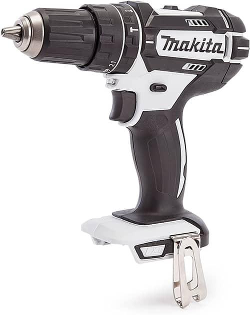 Makita WZ DHP482 18V White Cordless Combi Drill