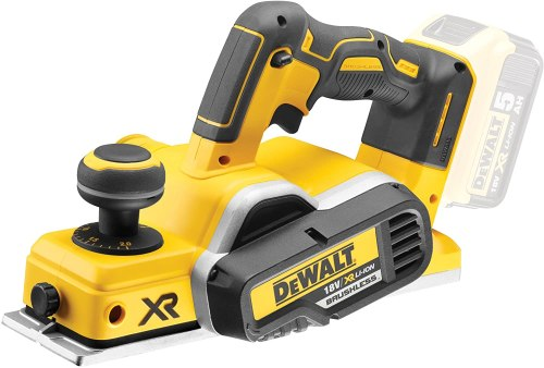 Picture of a Dewalt DCP580N 18 V XR Li-ion Brushless Cordless Planer