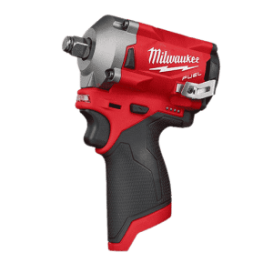 Milwaukee? 2555-20 M12 FUEL? Cordless Impact Wrench, 1/2 in Drive, 3200 bpm, 250 ft-lb Torque, 4.9 in L, Tool Only