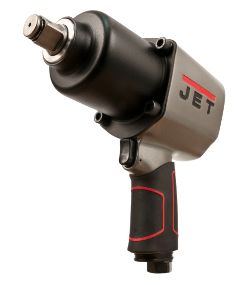 JET 505105 Pneumatic Impact Wrench with Hog Ring Anvil, 3/4 in, 9.5 cfm, 1000 bpm
