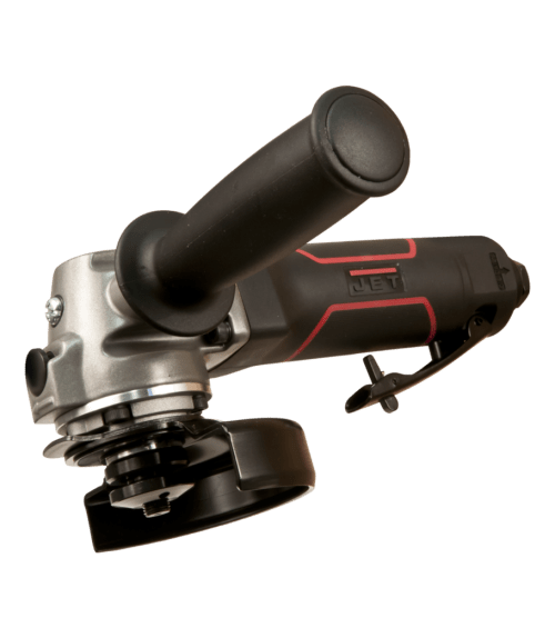 JET 505450 R12 Pneumatic Type 27 Angle Grinder, 4 in, 4 cfm, 12000 rpm