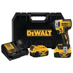 DEWALT Tool Connect™ DCF888P2BT 20V MAX XR® 4-Speed Brushless Cordless Impact Driver Kit, 1/4 in, 3800 ipm