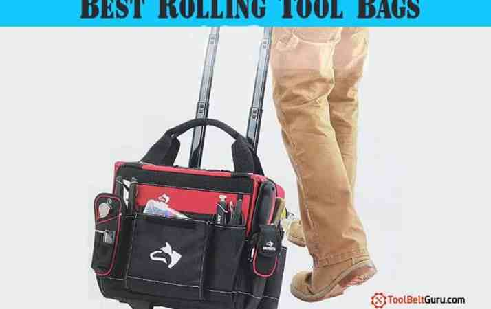 BEST Rolling Tool Bag tote