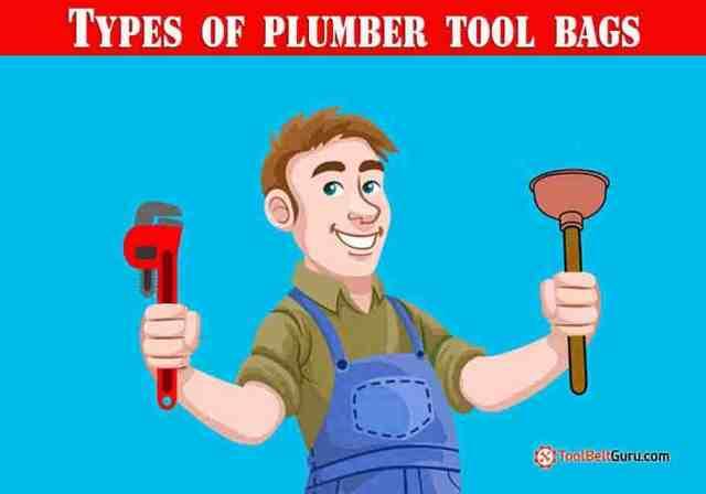 types of plumber bags