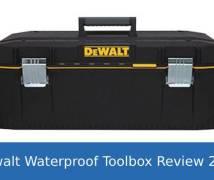 Dewalt Waterproof Toolbox