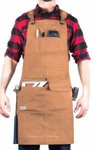 Hudson Durable Goods Adjustable Woodworking Apron