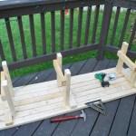 DIY Corner Bench