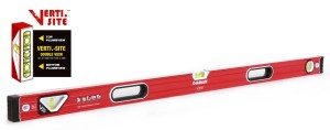 Goldblatt 48in. Double View Vertical Site I-box Spirit Level