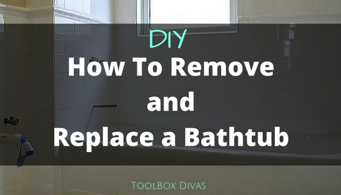 Tub Replacement: A DIY Dream or Nightmare?