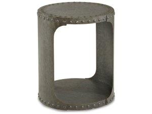 ToolBoxDivas_ART Furniture Epicenters Black Metal 26.5'' Wide Round End Table