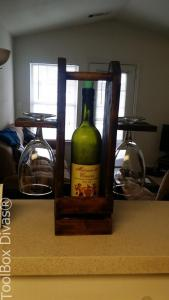 DIY Wine Caddy - ToolBox Divas