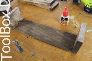 2 -2 DIY Wooden Centerpiece - ToolBox Divas