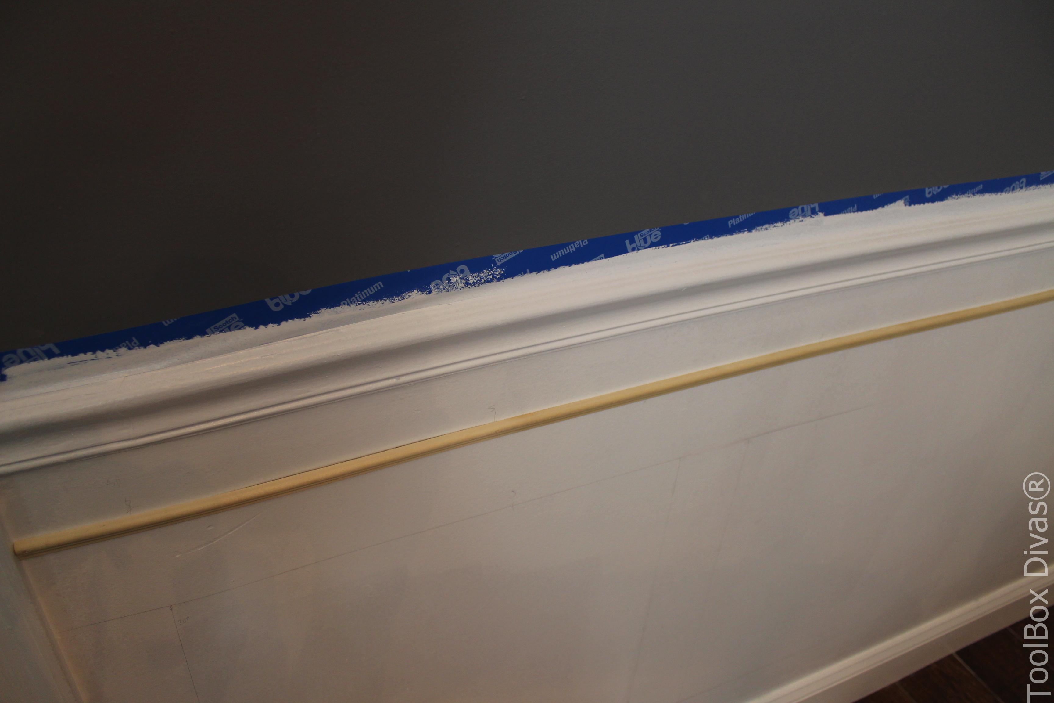 How to Install Picture Frame Moulding Wainscoting - ToolBox