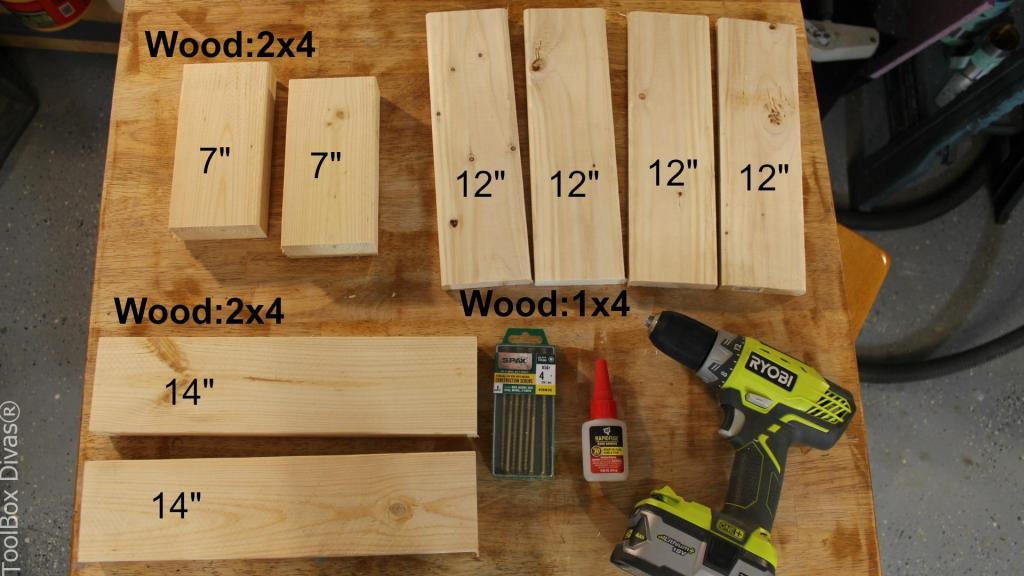 How To Make A Simple Step Stool Toolbox Divas