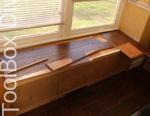 Window Seat - Toolbox Divas