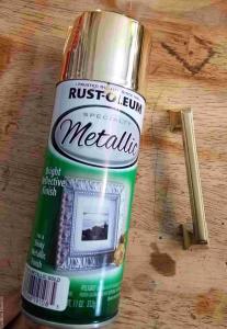 Spray Paint it gold