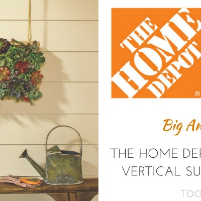 The Home Depot DIH Workshops: Vertical Succulent Garden