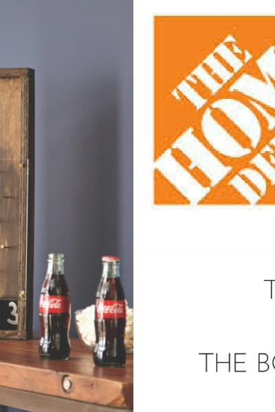 THE HOME DEPOT DIY WORKSHOP: FATHER'S DAY BOTTLE OPENER GAME