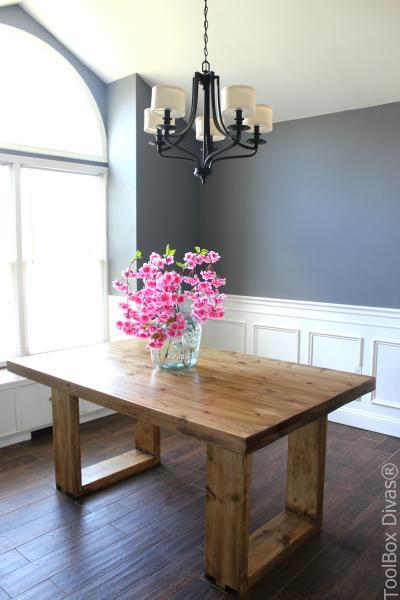Husky Modern Dining Table