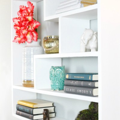 DIY Floating Bookshelf