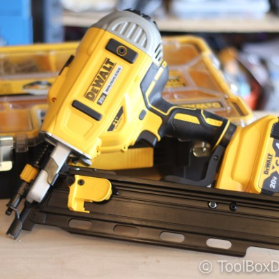 DEWALT 21-Degree Cordless Framing Nailer & Small Parts Organizer Tool Review