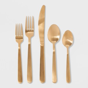 20pc Stainless Steel Silverware Set - Threshold™