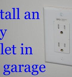 receptacle wiring in garage [ 1280 x 768 Pixel ]