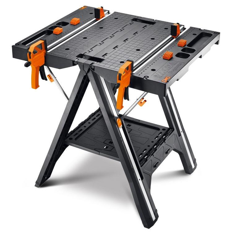 Deal Worx Pegasus Folding Work Table Amp Sawhorse 79 99