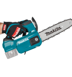 makita s 18v brushless chainsaw looks to be aimed at users wanting a small compact chainsaw that s lightweight and this one is light at 7 2 lbs  [ 1500 x 1500 Pixel ]