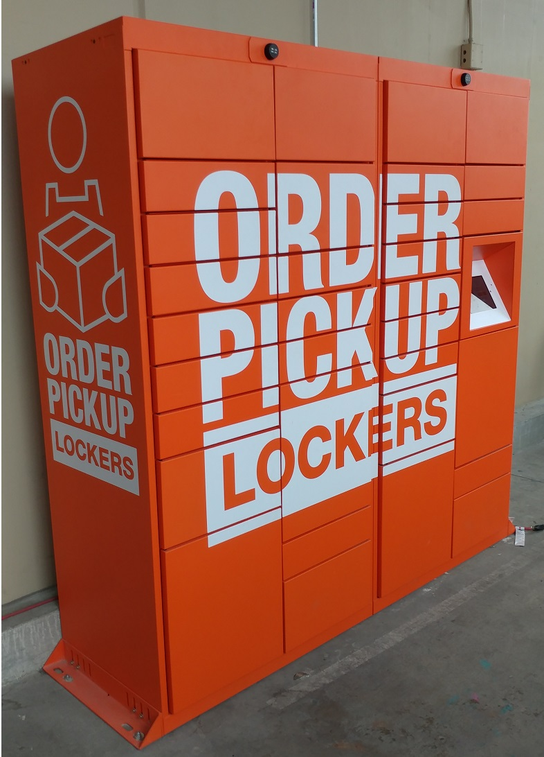 Home Depot Locations Near Me Now : depot, locations, Depot, Order, Lockers, Easier, Faster, Customer, Service, Desks, Craze