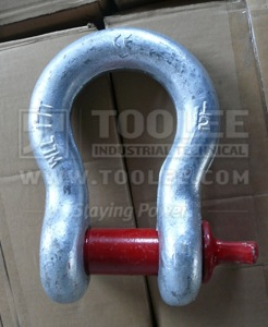 300 1101 Anchor Shackle With Screw Collar Pin US SPEC G209 6 1